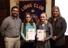 2017 Moundsville Lions Club Peace Poster Winners Pic